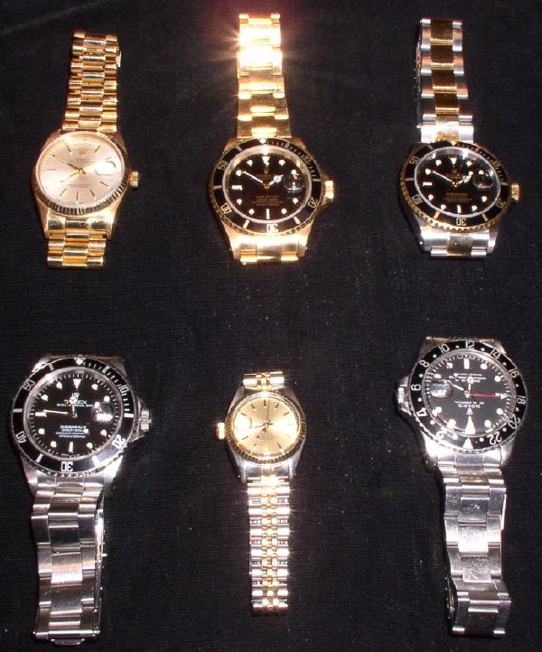 am in no way affiliated with Rolex, just a serious collector